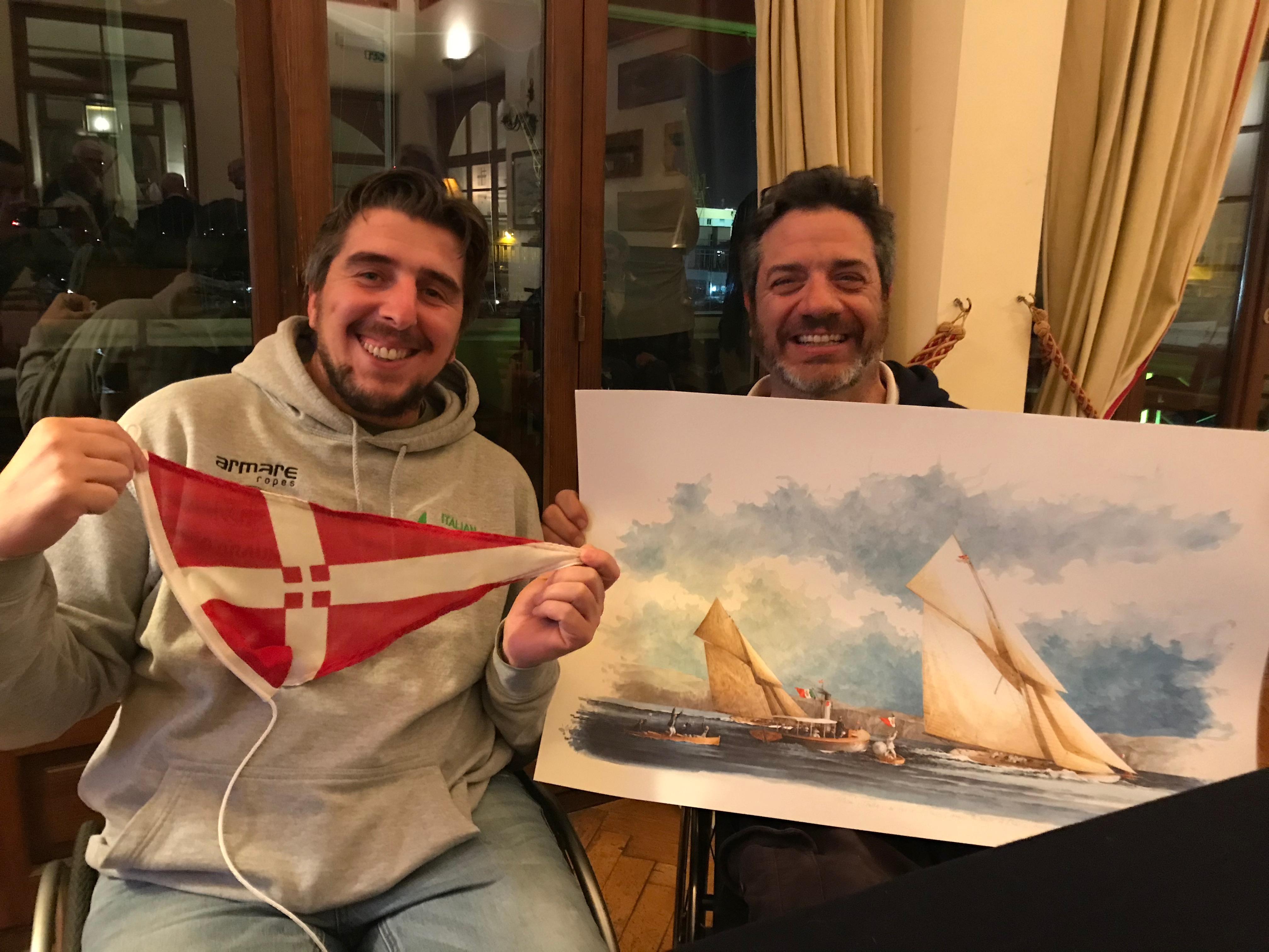 Incontro allo Yacht Club Italiano